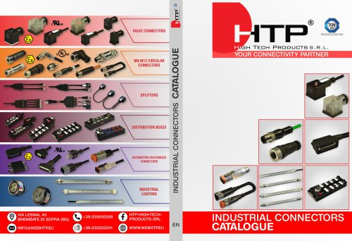 Industrial Connectors Catalogue