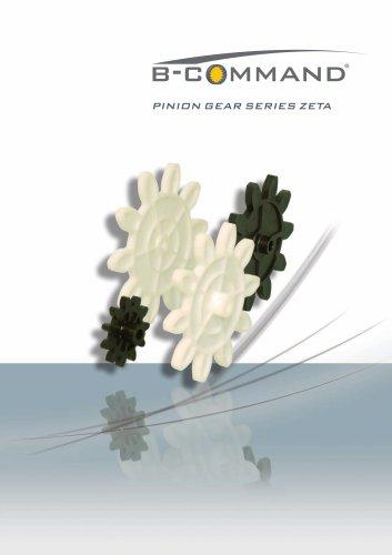 Pinion Gears Series Zeta B-COMMAND