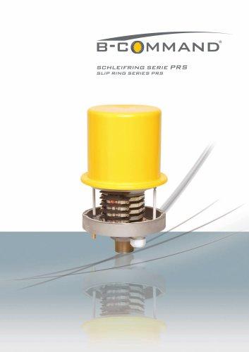 Slip Ring Series PRS B-COMMAND