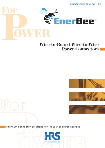 EnerBee - Wire-to-Board, Wire-to-Wire Power Connectors