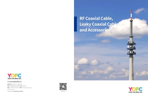 RF Coaxial Cable, Leaky Coaxial Cable and Accessories