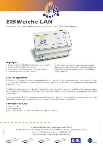 EIBWeiche LAN