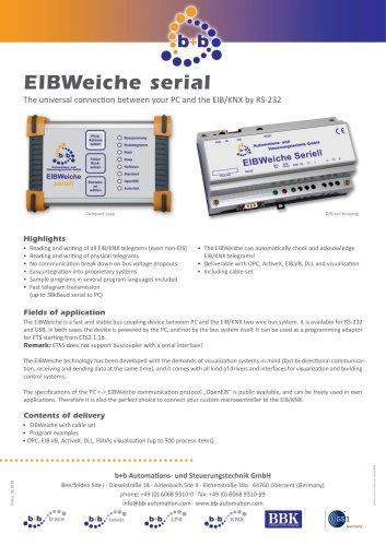 EIBWeiche serial