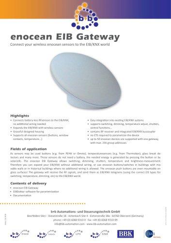 enocean EIB Gateway (Artcase)