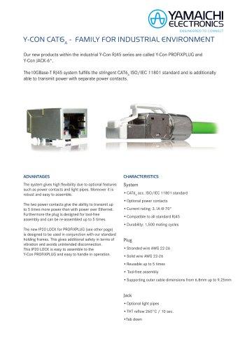 Y-Con Profix Cat6A Plug & Buchse System