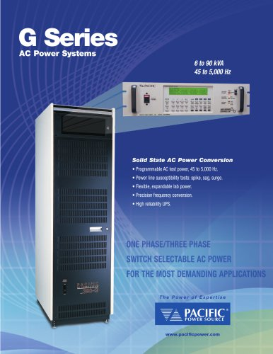 G Series AC Power Systems