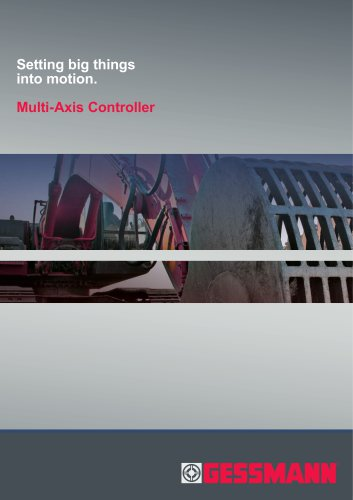 Productfolder Multi-axis controller