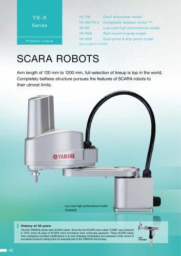 SCARA robots