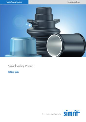 Catalogue 2007 Special Sealing Products