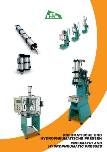 PNEUMATIC AND HYDROPNEUMATIC PRESSES