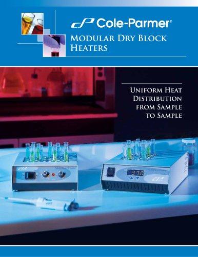 Cole-Parmer® dry block heaters brochure