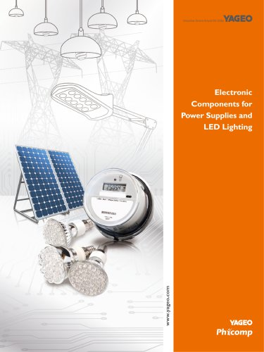 Electronic Components for Power Supplies and LED Lighting