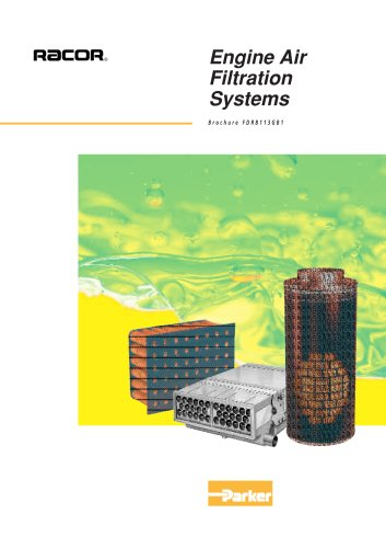 Filtre coalesceur à particules pour moteur thermique : série CCV