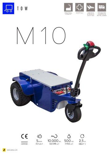 M10 Pedestrian operated electric tug