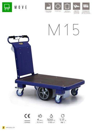M15 electric platform trolley