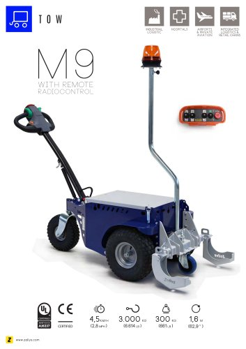 M9 cart mover with remote control
