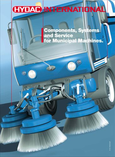 Components, Systems and Service for Municipal Machines.