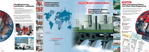 Components, Systems and Service for Power Plant Engineering.