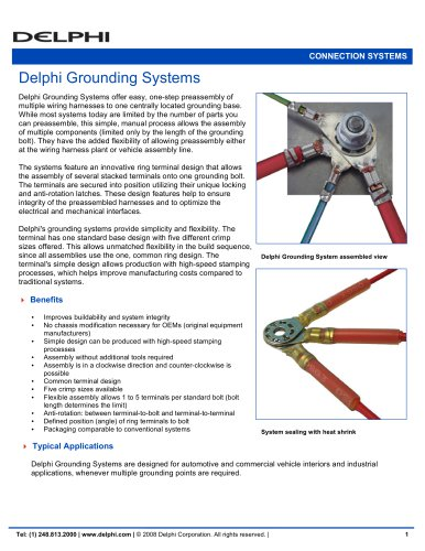 Delphi Grounding Systems