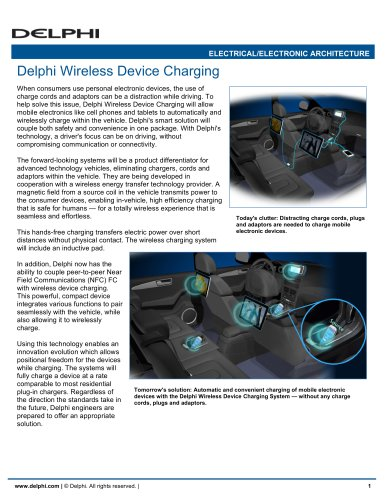 Delphi Wireless Device Charging