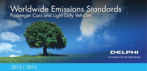 worldwide emission standard (passenger car and light duty vehicle)