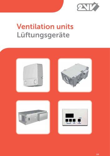Ventilation units