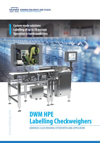 DWM-HPE-Labelling-checkweigher