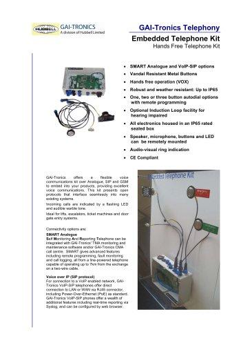 Embedded Telephone Kit