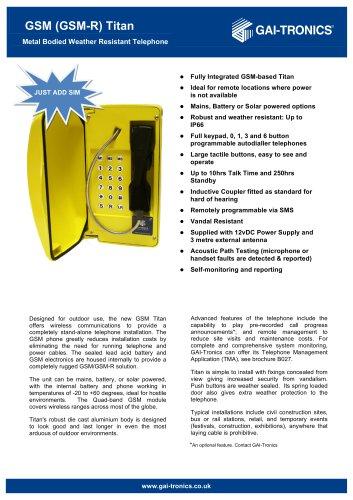 Titan GSM (GSM-R)