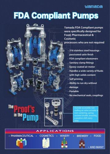 FDA Compliant Pumps