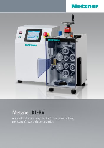 Metzner KL-BV - Automatic Hose Cutting Machine