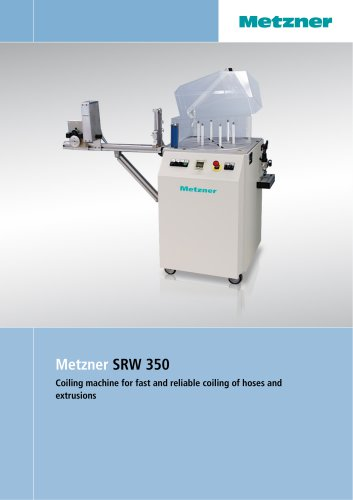 Metzner SRW 350 - Tube Coiling Machine for Fast and Reliable Coiling of Hoses
