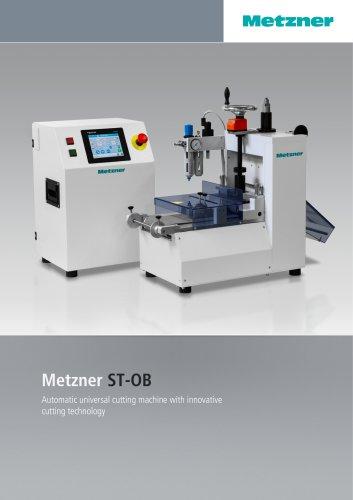 Metzner ST-OB Series - Universal Cutting Machines