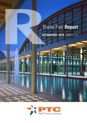 PTC ECOMONDO 2016 TRADEFAIR REPORT