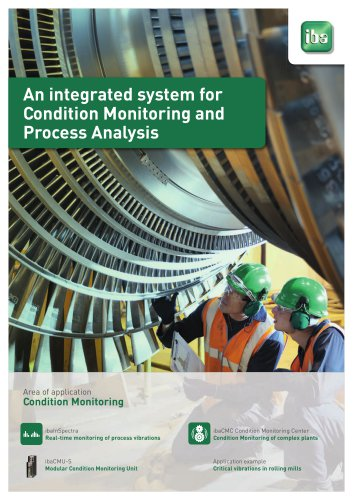 An integrated system for Condition Monitoring and Process Analysis