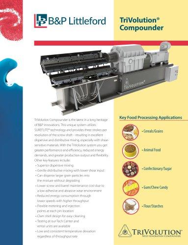 TriVolution Food TDS