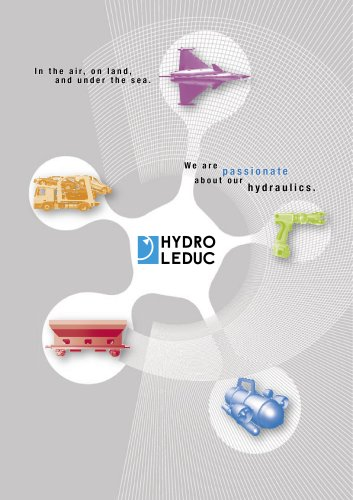 HYDRO LEDUC customized products