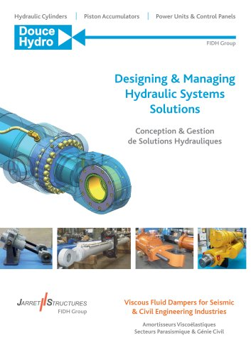 Designing & Managing Hydraulic Systems Solutions