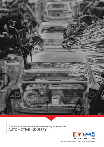 Adhesive Dispensing Systems for the Automotive Industry