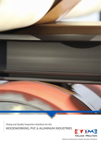Gluing solutions for the woodworking, PVC and aluminium industries