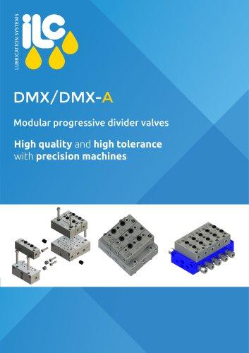 DMX Modular Progressive Divider Valves Catalogue