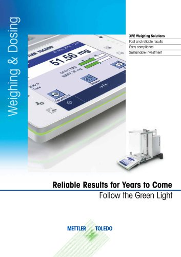 Reliable Results for Years to Come, Follow the Green Light